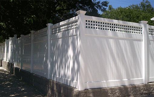Vinyl Privacy Fencing Vinyl Solid Fencing Lifetime