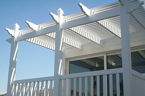 Vinyl Picket Patio Covers